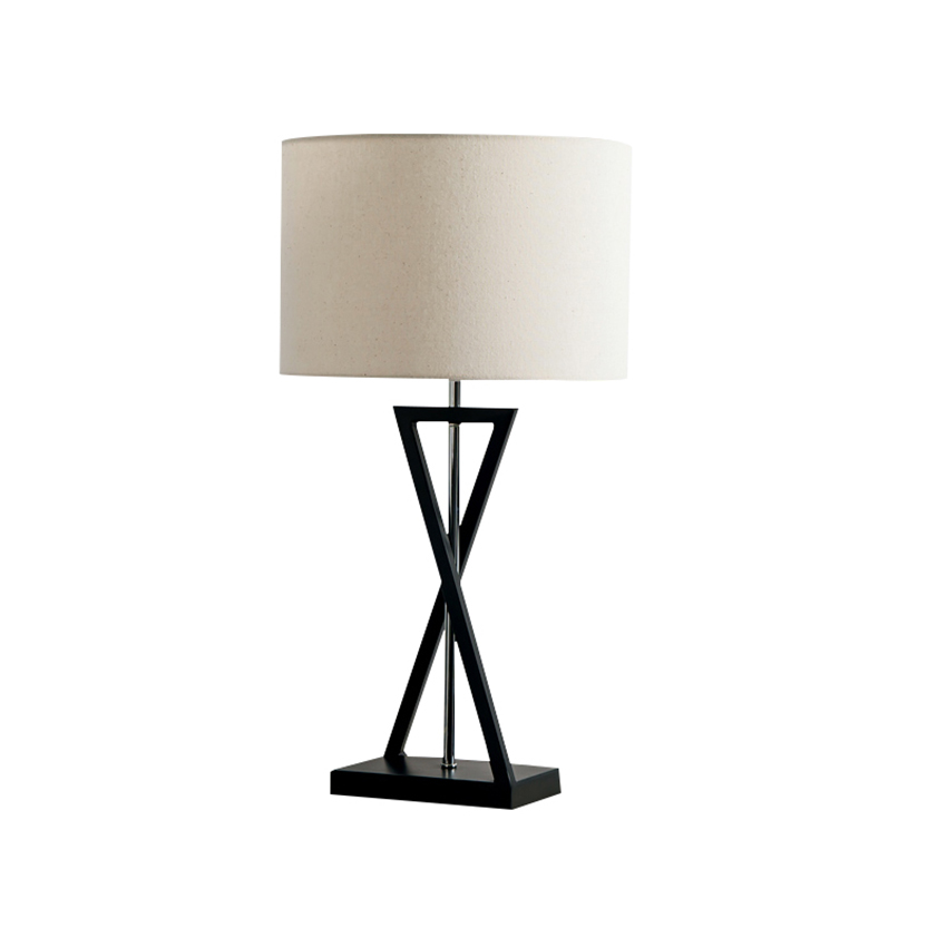 Modern Desk Lamp Bedroom Bedside Table Lamp Foyer Decorate Lamp Hotel Room Idea Iron Art Textile Table Light Fixture E27 BL50 luxary classic american bedroom table light foyer european crystal table lamp glass tall table light bedside hotel table lamp