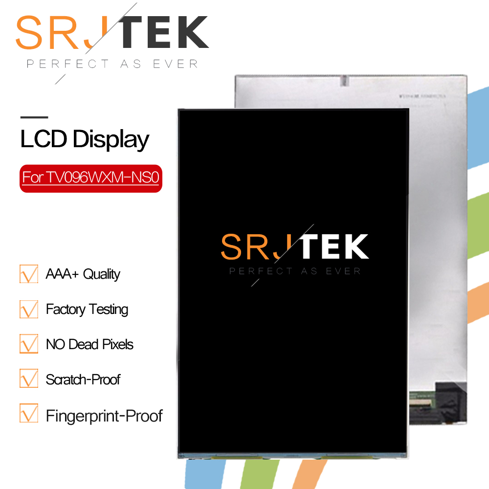 Srjtek 9.6 For TV096WXM-NS0 TU096WXM-NS0 LCD Display TV096WXM TU096WXM NS0 LCD Screen Tablet Replacement Srjtek 9.6 For TV096WXM-NS0 TU096WXM-NS0 LCD Display TV096WXM TU096WXM NS0 LCD Screen Tablet Replacement