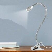50CM Enrichment LED clip light lamp and desk lamp desk book clip nursing students work eye reading lamp bedside lamp SD109