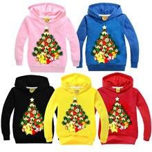 Lovely Toddler Kids Girl Boy Hoodie Jumper Pullover Sweatshirt Tops Hoodies 2-7Y