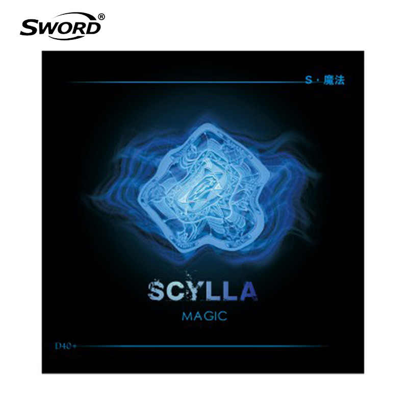 SWORD 2019 New SCYLLA MAGIC (Pips-long, Top Point Reinforced) Table Tennis Rubber (Topsheet, OX) Ping Pong without Sponge