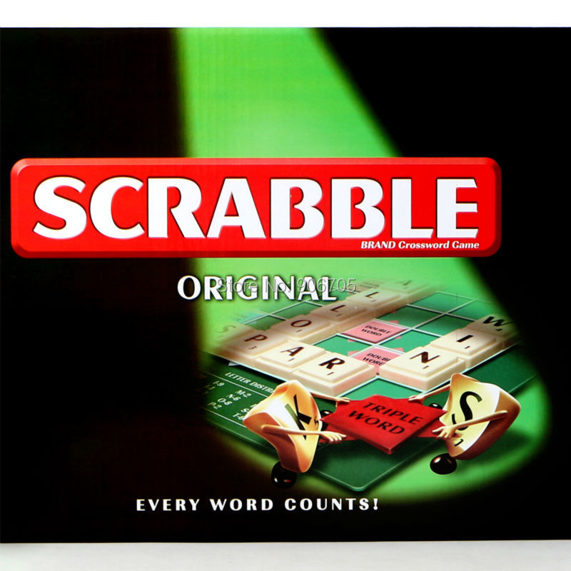 Scrabble Games Crossword Board Spelling Games Learning English Table Jigsaw Puzzles Educational Toys For whole Family 99pcs plastic scrabble tiles english letters numbers black white font toy for kids children puzzles model educational toys