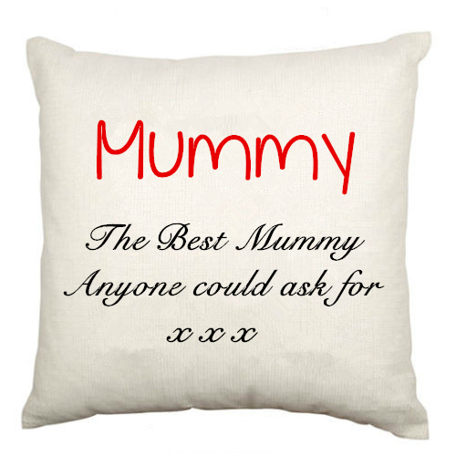 The Best Mummy Quote Throw Pillow Case Mum Cushion Cover Personalised  Mothers Day Birthday Gifts Custom