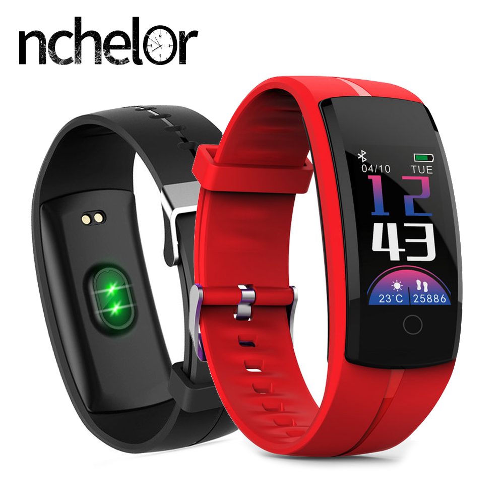 Smart Wristband Sport Pedometer Watch for Women Men Heart Rate Blood Pressure Monitor 0.96Color Screen Fitness Tracker Bracelet fashion women color screen smart band wristband heart rate blood pressure monitor fitness bracelet tracker smartband pedometer