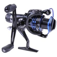 Upgrading Drag Spinning Reel with Extra Spool Saltwater Fishing Reel Free Shipping 9+1 ball bearings 27LB/12KG max drag power