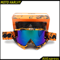 2016 HOT sale KTM motocross helmet goggles gafas moto cross dirtbike motorcycle helmets goggles glasses skiing skating eyewear