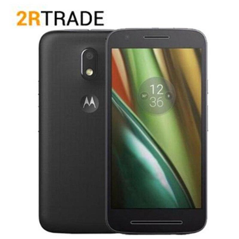 D'origine Motorola Moto E3 Puissance 2G 16G XT1706 5.0 pouces MT6735P Anroid 6.0 OS téléphone portable