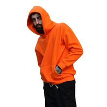 USA SIZE Fashion Color Hooides Mens/women Thick Clothes Winter  Sweatshirts Hip Hop Streetwear Solid Fleece Hoody Man Clothing