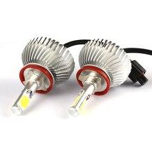 Автомобиль для укладки H8 H11 COB Фар Противотуманные Фары Авто Лампы Автомобилей Лампы с Цоколем