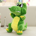 Hot Sale 20cm mini colorful crocodile little dinosaur plush hand doll pendant stuffed toy children prize gift wholesale