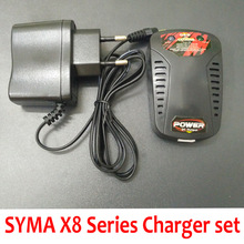 Syma X8HW X8HC X8HG X8C X8W X8G RC Quadcopter Drone Li-po Battery Charger And Charger Field Equipment Set Spare Elements