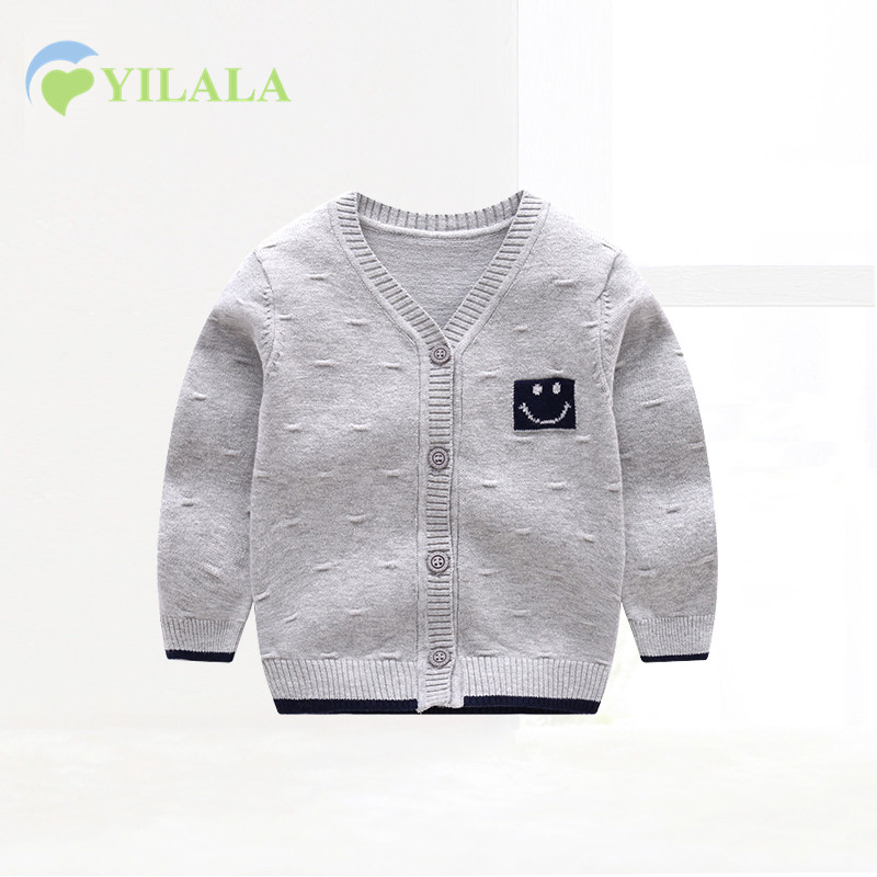 Casual-Newborn-Baby-Sweaters-Cotton-Solid-Baby-Sweater-V-Neck-Long-Sleeve-Infant-Clothes-Spring-Boys-Sweater-Baby-Girls-Clothin-2