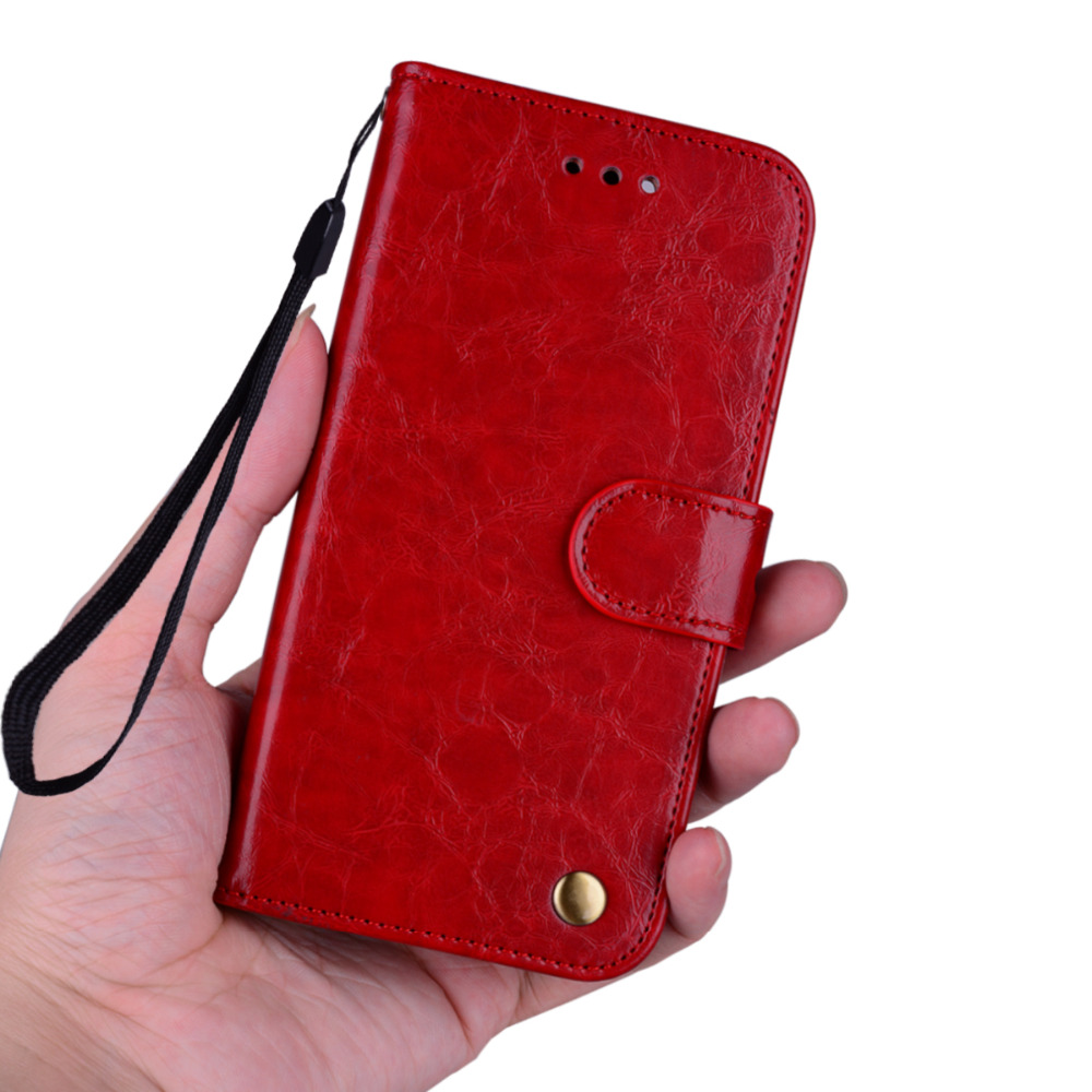 For iPhone 6 6S Case Full protection Soft Silicone Oil wax Leather For iPhone 6 6s 7 8 Plus Case Stand function phone back Cover