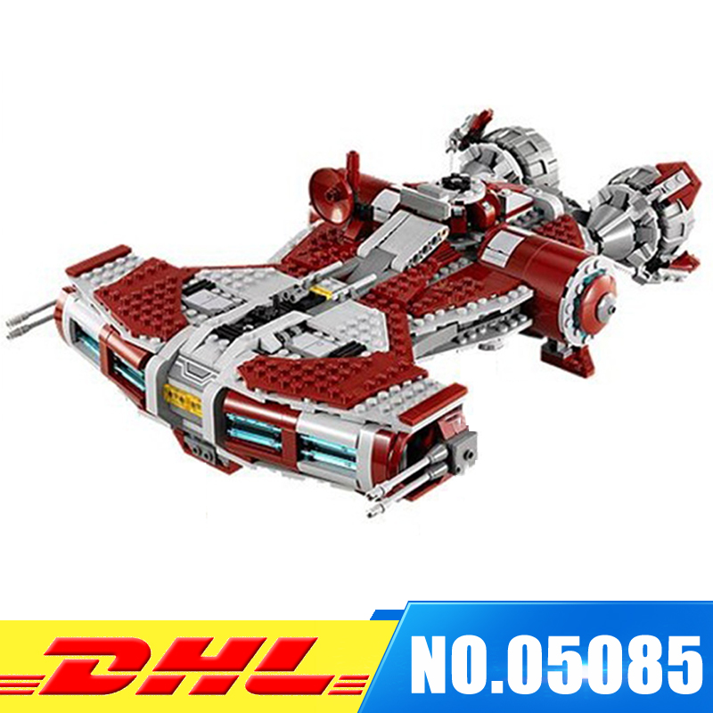 Fit for 75025 LEPIN 05085 957Pcs UCS Series The Jedi Defender Class Cruiser Set Building Blocks Bricks Toys   Model Gift lepin 05085 star genuine war series the defender class cruiser set building blocks bricks educational toys as gift 75025