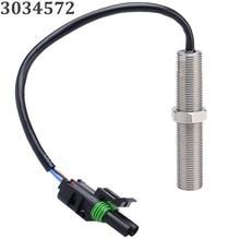 Novo 3034572 magnético captador mpu gerador de velocidade sensor rotação rpm para gerador conjunto + frete grátis 12006029