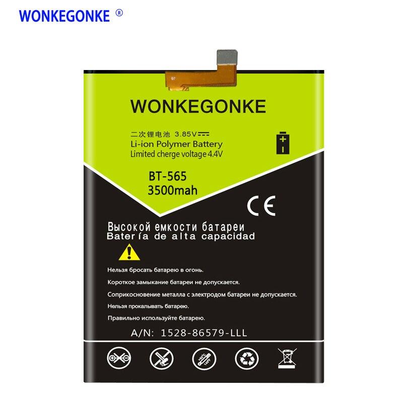 WONKEGONKE BT-565 Batterie 5,5 zoll T5 T5C für leagoo kiicaa mix handy batterie