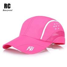2017 New Fashion Sport hat Women Men Golf Baseball Cap Unisex Thin Hats Male Female Summer Caps RC1021