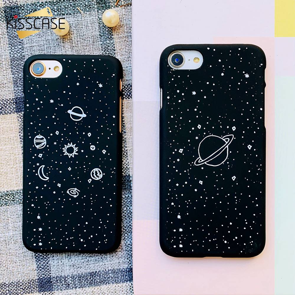 Cellphones & Telecommunications Phone Bags & Cases Kerzzil Fashion Space Phone Cases For Iphone 6 6s 7 8 Plus X 10 Case Planet Moon Star Back Cover Hard Case For Iphone 7 6s 6