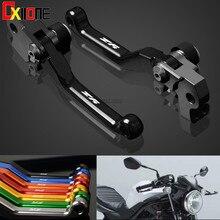 For YAMAHA YZ80 YZ85 YZ 80 85 2001-2014 Motocross Motorcycle CNC Pivot Dirt Bike Clutch Brake Levers Set Up WITH LOGO