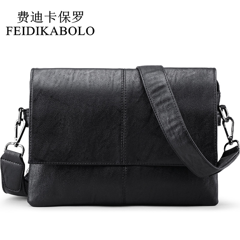 FEIDIKABOLO Designer Handbags Men's Cross body Bag Male PU Leather Messenger Bags Men Travel School Bags Leisure Shoulder Bags deelfel new brand shoulder bags for men messenger bags male cross body bag casual men commercial briefcase bag designer handbags