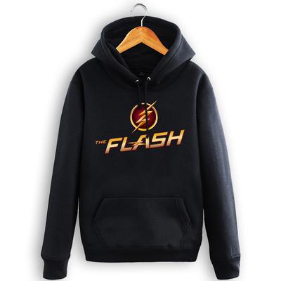 Mens Casual The Flash Hoodies Hooded Printed Cotton Pullover Sweatshirts Top Cosplay Costume 6 Size