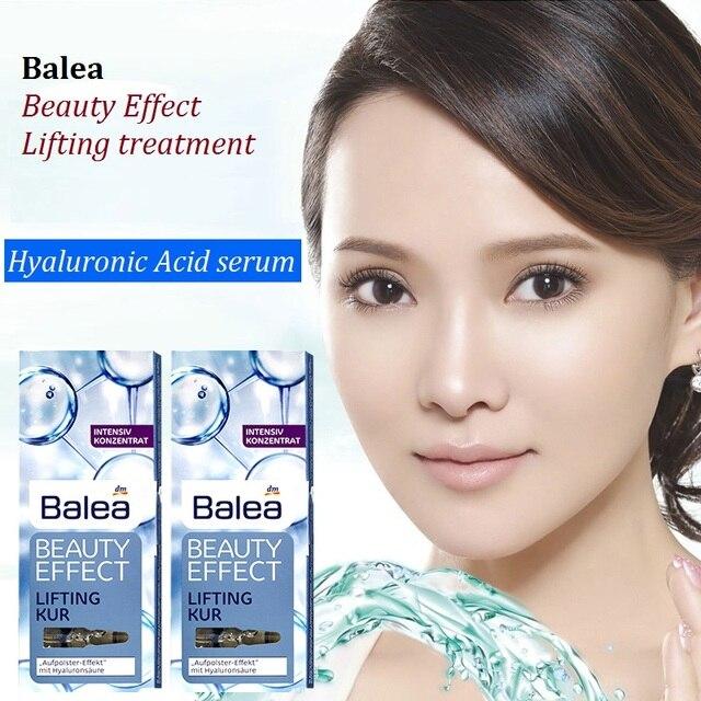 Germany 1PCS Balea Hyaluronic Acid serum Beauty Effect Lift Treatment Booster Ampoules Face Neck Essence Moisturizing injection