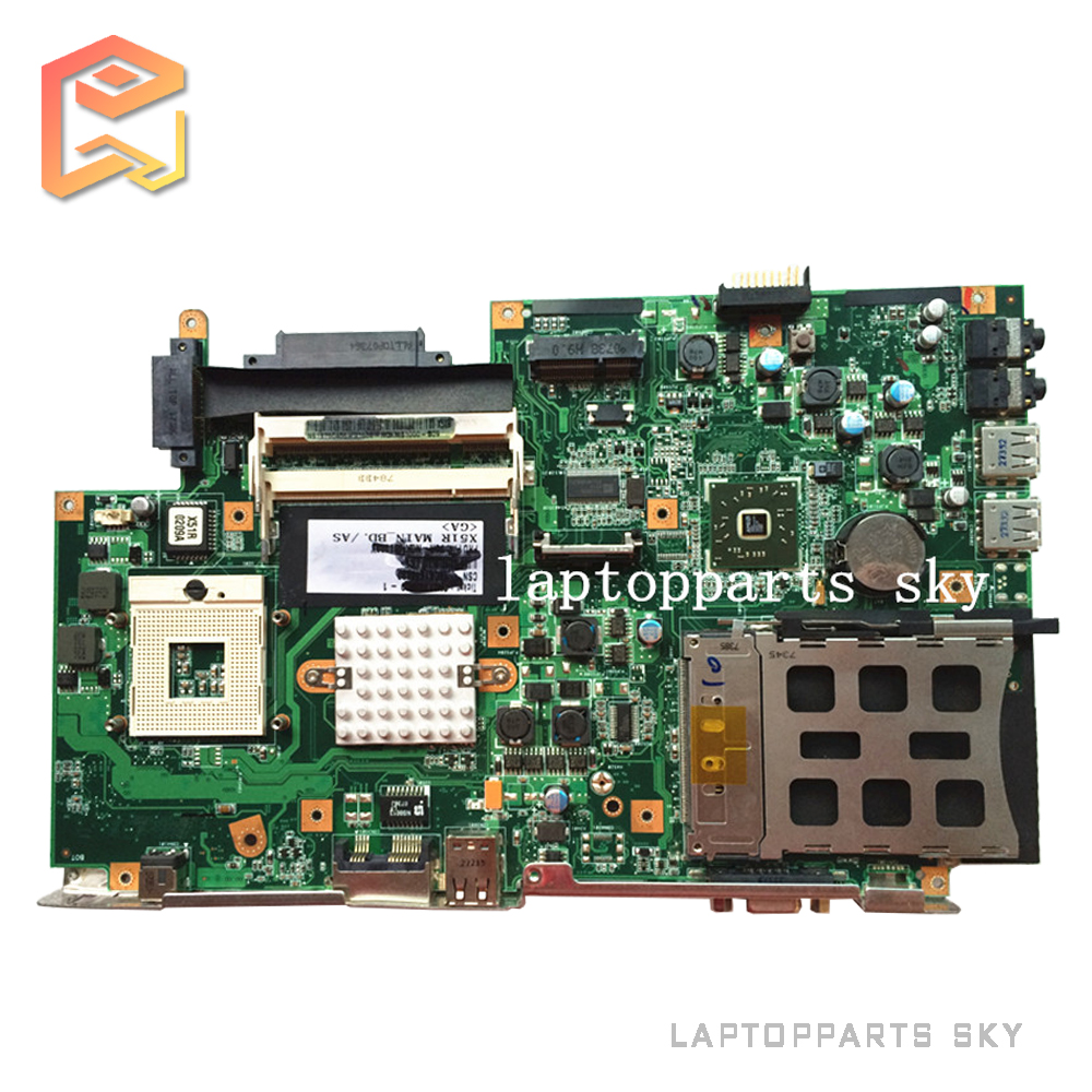 Original laptop motherboard for ASUS X51 X51R mainboard REV:2.1 100% fully tested working good and free shipping