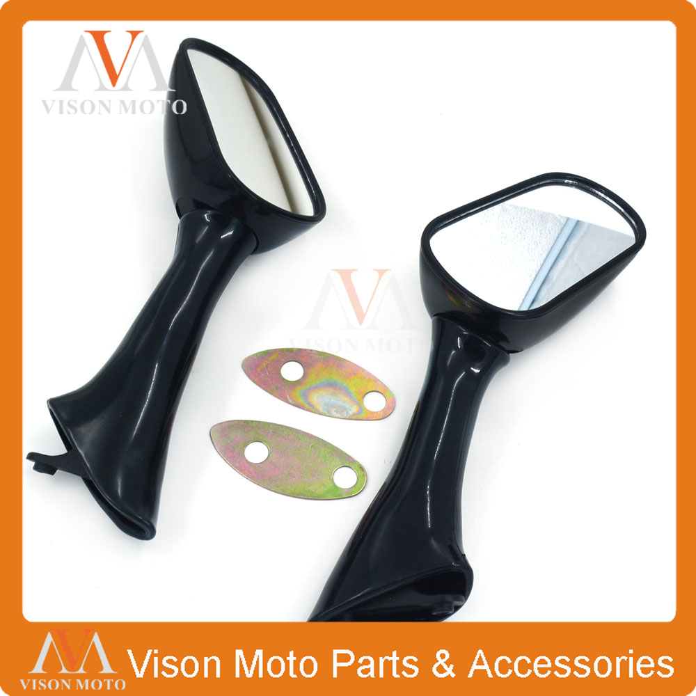 Motorcycle Side Mirror Rearview Rear View For <font><b>HONDA</b></font> <font><b>CBR600</b></font> CBR 600 <font><b>F2</b></font> F3 CBR1000F 1000F 93-96 VFR 750F 800 FI VFR750F VFR800FI image