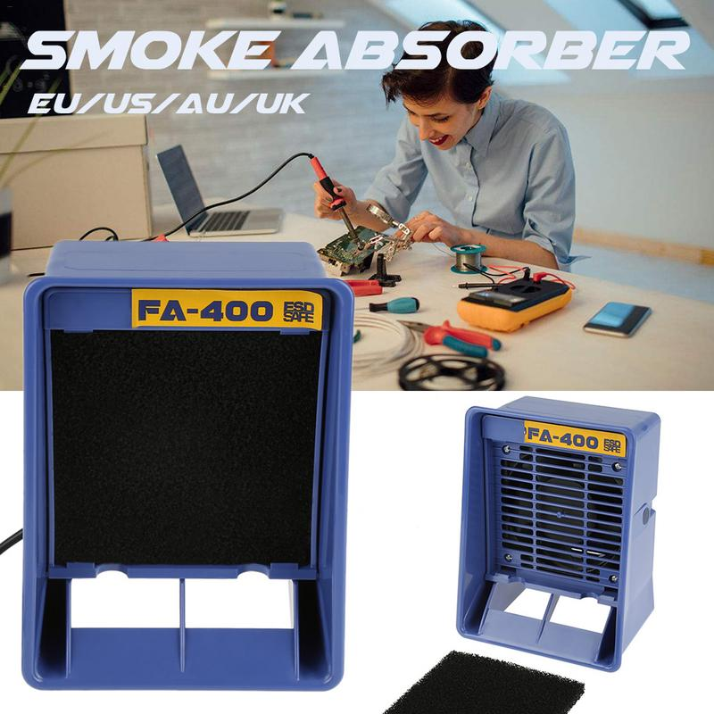 <font><b>FA</b></font>-<font><b>400</b></font> Smoking Apparatus Welding Exhaust Anti-Static Smoke Absorber Efficiently Non-scaling Horizontal image
