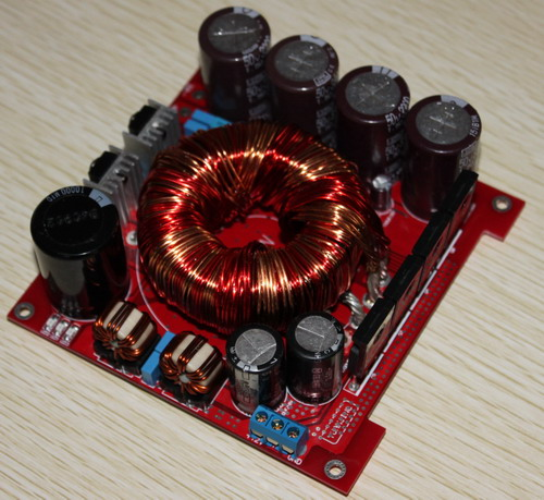 12VDC convertire a +/-45VDC 500 W di potenza di commutazione IRFP150N + TL494 per auto amplificatore di potenza di alimentazione di bordo12VDC convertire a +/-45VDC 500 W di potenza di commutazione IRFP150N + TL494 per auto amplificatore di potenza di alimentazione di bordo