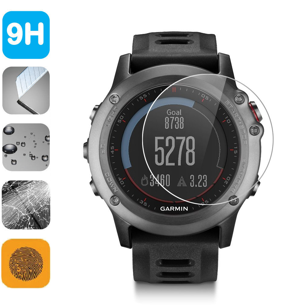 9H Tempered Glass LCD Screen Protector Shield Film για αξεσουάρ Garmin Fenix ​​3 Fenix3 F3