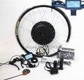 70 KM/H bicicleta elétrica kit 48 v 1500 w ebike roda traseira com o mais novo display LCD