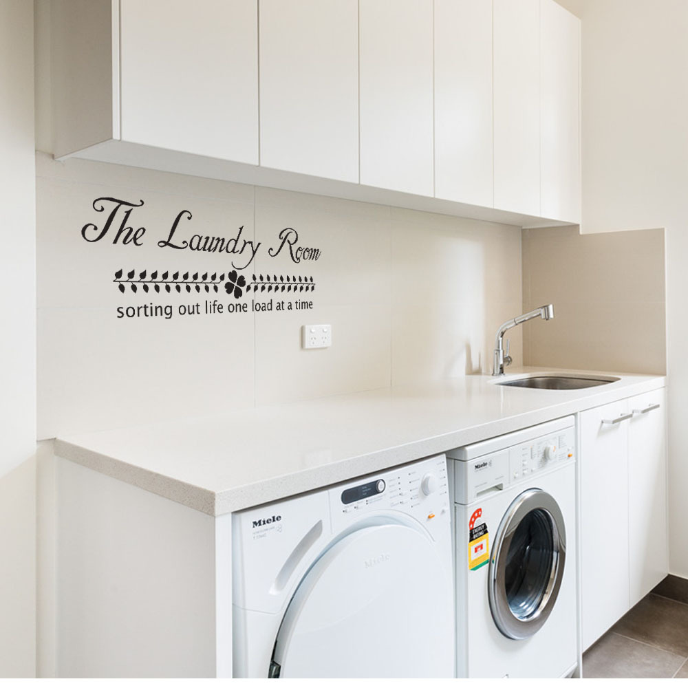 Laundry Room Vinyl Aliexpress  Buy The Laundry Room Vinyl Wall Decal Sorting