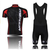 Merida Jersey di Riciclaggio 100% Poliestere Traspirante Abbigliamento Ciclismo Manica Corta Maglia Ciclismo/Quick Dry Mountain Bike Abbigliamento