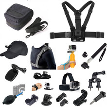 Kit de accesorios para XIAOMI Mijia Panoramic 360 Mi, cámara de vídeo esférica, Mijia Mini 4K, GOXTREME, Insta 360 ONE X, Cámara de Acción