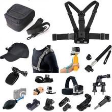 Kit de acessórios para xiaomi mijia panorâmica 360 mi, esfera camcorder/mijia mini 4k/goxtreme/insta 360 uma câmera de ação x