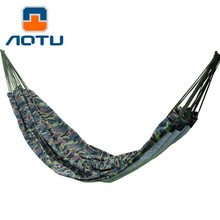NEW 2019 Outdoor Double canvas hammock camouflage couple Camping Hiking swing 27*25*2CM
