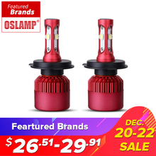 Oslamp H4 H7 H11 H13 9005 9006 SMD Chips 80 Watt LED Auto Scheinwerferlampe Hallo-Lo Strahl 9600lm 6500 Karat Auto Led-scheinwerfer Nebelscheinwerfer 12 V 24 V