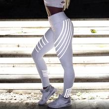 Charmed 2018 new Laser Color Leggings Women High Waist Fitness push up Trousers Stretch Pants Roupa De Ginastica wz* charmed