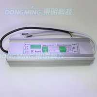150W power supply AC110 260V to DC12V 12.5A power adapter,IP67 waterproof led driver, Aluminum shell for led lights