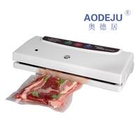 Automatic Mini Commercial Vacuum Sealing Machine Tea Laminator Household Food Vacuum Packaging Machine Sealer