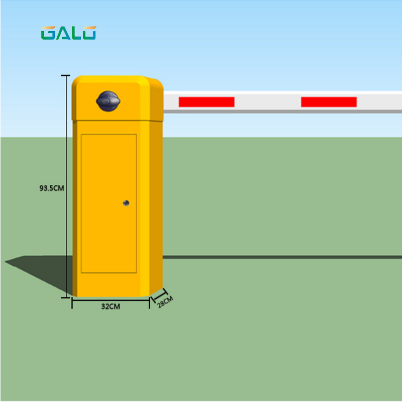 Smart Barrier gate/ Parking Remote Control Barrier /Electric Barrier Gates Remote Barrier Gates 180 degree barrier gate automatic barrier car park barrier simple machines