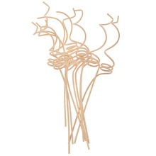 10pcs Rattan Reed Diffuser Replacement Refill Sticks Air Freshener Room Fragrance Rattan Diffuser Sticks Home