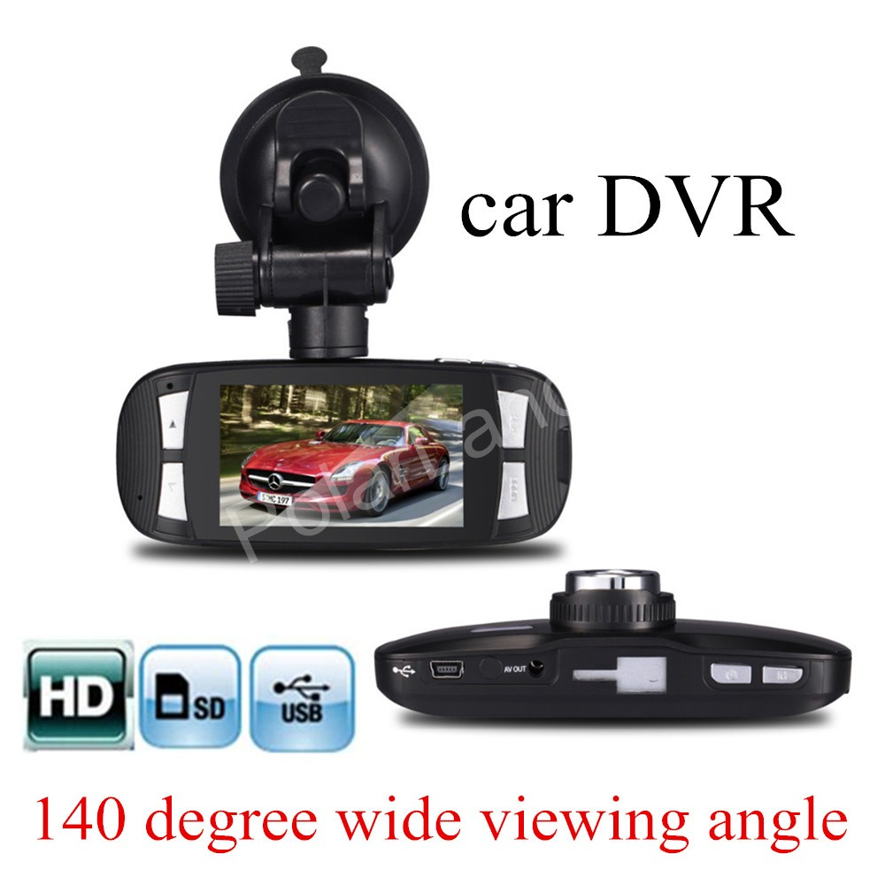 Free Shippping Full Hd 1080p G1w 27 Inch Lcd Car Dvr Camera View Mobile With Shock Sensor And Wifi Ptz Controller Adapter Recorder G Motion Detect Styling Novatek 96650