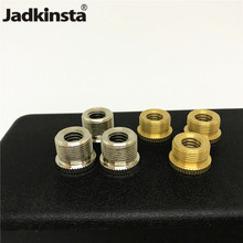 Jadkinsta 50PCS 5/8 to 3/8 Tripod Screw Microphone Screw Adapter Brass Mic Adapter Studio Accessories