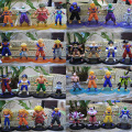 Free Shipping 4pcs/set Dragon Ball Z 12cm PVC Action Figure Toys Model Collect  figurines doll