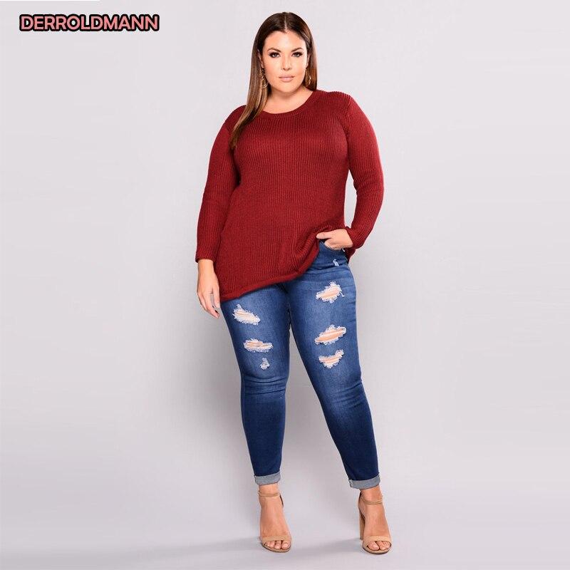 Women Elastic Jeans Hollow Out Pants Broken Jeans Torn Denim Ripped Pants Slim Denim Pocket Zipper Button