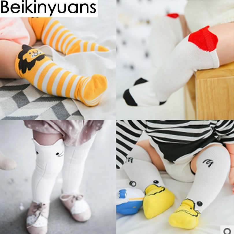 5c7bc745436 Detail Feedback Questions about Baby Socks Winter Cotton Knee High Girls  Socks Children Three Dimensional Panda Print Loose Tube Baby Knee Socks  Fashion on ...