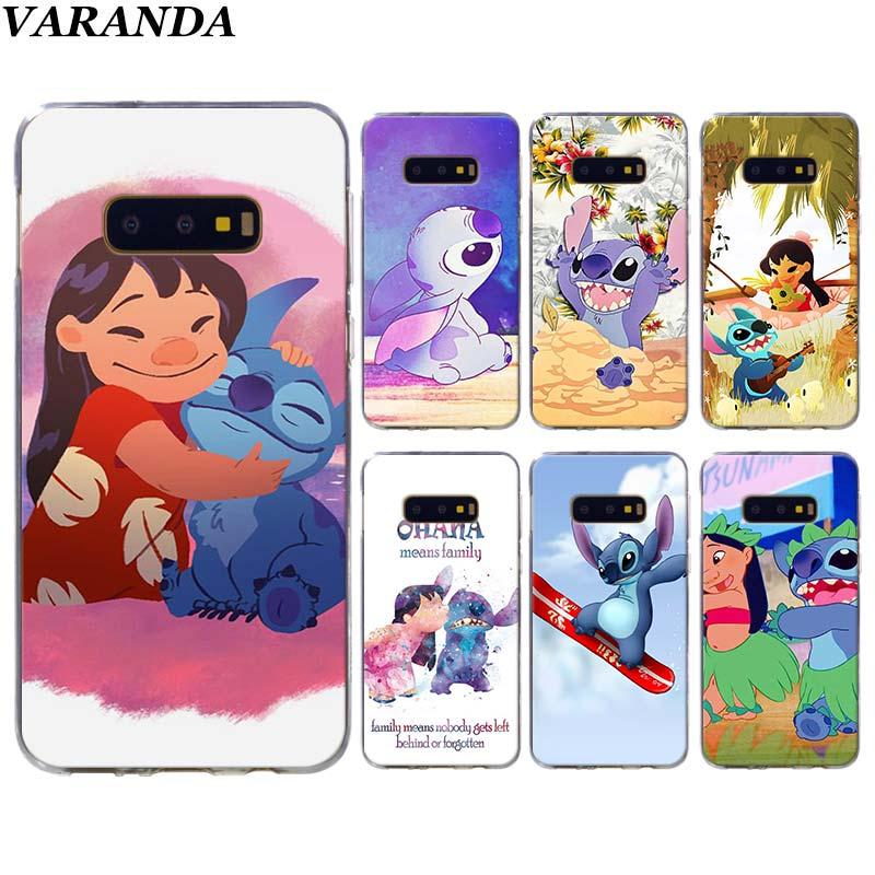 LILO AND STITCH OHANA Phone cases for Samsung Galaxy S10 Plus S10e S8 S9 Plus S6 S7 edge A50 Note 8 9 TPU Soft Silicone case