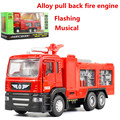 1:43 alloy car models,high simulation fire engines toy vehicles,metal diecasts, pull back & flashing & musical, free shipping